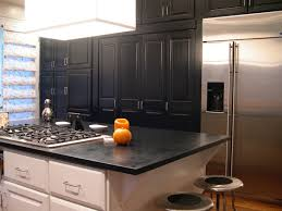 hand painted kitchen cabinets hand painted black kitchen chicago