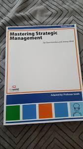mastering strategic management dave ketchen jeremy short