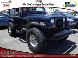 jeep wrangler turquoise 1991 black jeep wrangler s 4x4 69792138 gtcarlot com car