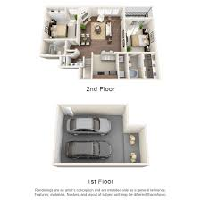Lakeside Floor Plan 1 2 And 3 Bedroom Layouts Lakeside At Coppell