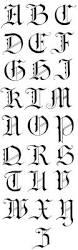 25 unique gothic alphabet ideas on pinterest gothic fonts