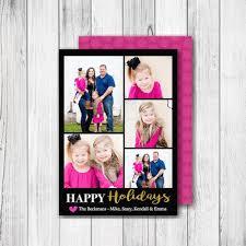 christmas photo card u2013 merry christmas or happy holidays u2013 5 photo