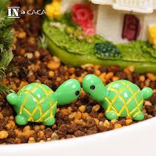 tortoise home decor 2pcs cute mini green turtle home decor animal ornaments action