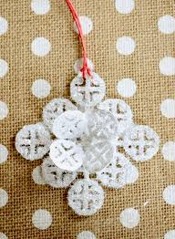 sparkly diy mosaic ornaments shelterness