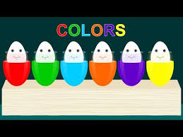 Best Color For Kids Colors For Kids Toddlers With Color Eggs Best Learning