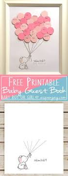 baby shower guest book ideas 17 cool diy baby shower guest book ideas foliver
