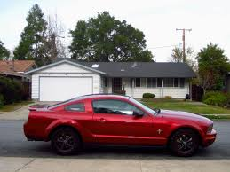 ford mustang v6 2007 pics of my 2007 mustang redfire v6 ford mustang forum