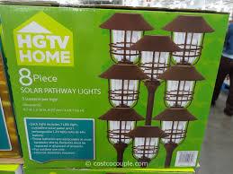 Outdoor Solar Landscape Lights by Hgtv Large Solar Pathway Lights