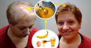 banana for hair she combined banana and 2 other ingredients and put the
