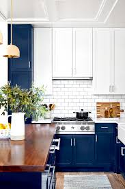 white kitchen cabinets with blue subway tile 21 tile backsplash ideas for the range that add a