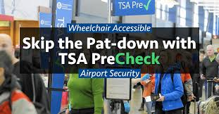 skip the airport security pat down with tsa precheck