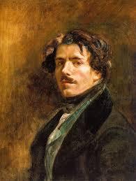 Delacroix Meme - self portrait with green vest eugène delacroix artwork on useum
