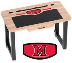 miami university college desk in solid cherry caretta workspace