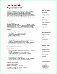 sample of a resume for job application template job description