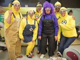 Despicable Minion Costume Despicable Minions Halloween Costumes