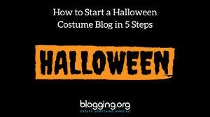Create Halloween Costume Start Halloween Costume Blog 5 Steps