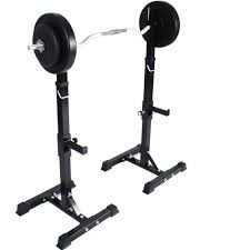 physionics adjustable squat stand 50 48 cm 12 levels barbell