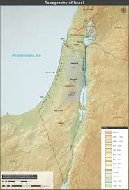 Map Israel Topographical Map Of Israel