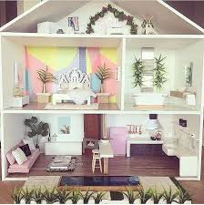 Dollhouse Decorating by Best 25 Dollhouse Furniture Ideas On Pinterest Diy Dolls House