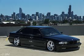 stance bmw photos bmw chicago city usa e38 stance black cars cities