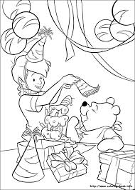 winnie pooh coloring picture coloring station