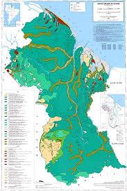 Preliminary vegetation map of guyana