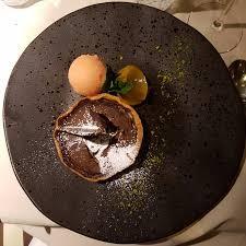chocolat cuisine tarte au chocolat et sorbet orange sanguine simple efficase et