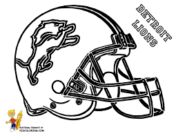 nfl team coloring pages detroit lions football helmet coloring page at yescoloring com