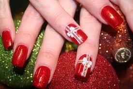 christmas nail design christmas tree