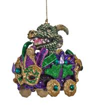 katherine s collection mardi gras float ornament 4 5