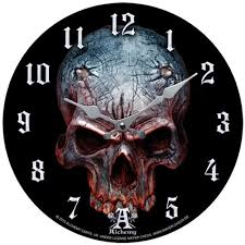 alchemy of england birth of a demon clock evil skull home decor ebay