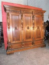 Antique Walnut Bedroom Furniture Beautiful Carved Antique Italian Walnut Bedroom Set Armoire