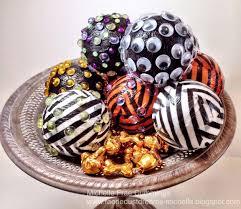 halloween chocolate balls halloween decorations are ezpz with smoothfoam balls paper