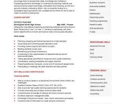 teaching cv template academic resume template english teacher cv