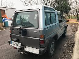 daihatsu rocky care for bertone u0027s freclimber a daihatsu rocky with a bmw engine