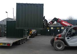 shipping container delivery container container
