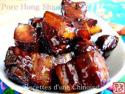 la cuisine asiatique recettes d une chinoise porc hong shao 红烧肉 hóng shāo ròu