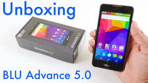 blu advance 5 0 unboxing and setup youtube