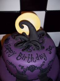 birthday halloween cake nightmare before christmas swirl idea halloween cake ideas