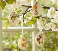 Easter Decorations For Tree by Egg Shells Creative Crafts And Easter Decor Ideas
