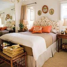 Guest Bedroom Ideas Cozy Guest Bedroom Decor With Stylish Floral Curvy Headboard And
