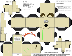 Wallace And Gromit Hutch Wallace And Gromit Cubees By Theflyingdachshund On Deviantart