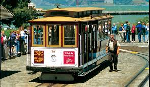 San Francisco Cable Cars Map by San Francisco U0027s World Famous Cable Cars Bay City Guide San