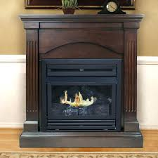 Outdoor Propane Gas Fireplace - fireplace insert propane dual fuel vent free wall mount gas