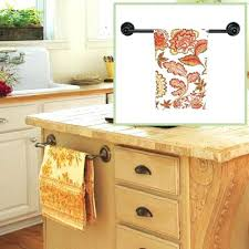 kitchen cabinet towel rack kitchen towel bar seoranks