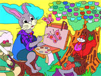 barbie coloring painting games girls