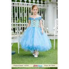 buy gorgeous ocean blue 1st birthday tutu dress for kids with