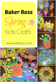 having fun this half term with baker ross spring crafts serenity you