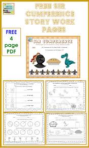 Sir Cumference And The First Round Table Sir Cumference And The Dragon Of Pi Free Printable Worksheets