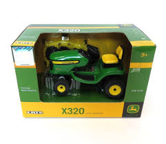 amazon com ertl john deere 1 16 x320 mower patio lawn u0026 garden